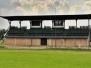 Trybuna na stadionie w Strzyżowie